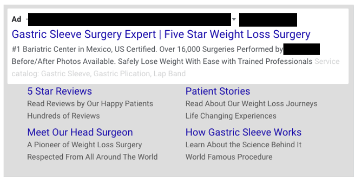 case study google ads example text